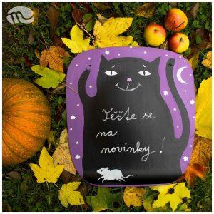 halloweenová kočka2